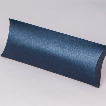 "Pillow box ""Blue-metalic S2"""