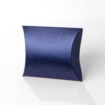 "Pillow box ""Blue-metalic S1"""